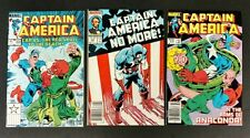CAPTAIN AMERICA 1984 #291 TO348 COMP. VF+ SHARP MANY 1ST APPS. MANY DEATHS