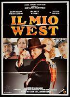 Manifesto El Mio West Pieraccioni David Bowie Harvey Keitel M247