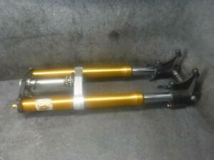 15 Yamaha YZF R6r R6 Front End Forks 47G