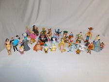 Lot of 40 Various Disney Figures Beast-Belle-Dwarfs-and more