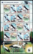 302 - Bosnia and Herzegovina 1998 - Birds - WWF - White Stork - MNH Small Sheet