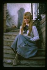 Brigitte Bardot Striking Smiling Pose Viva Maria set Original 35mm Transparency