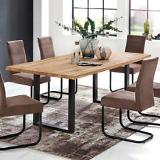 Rechteckige Esstische & Küchentische mit Massivholz günstig kaufen