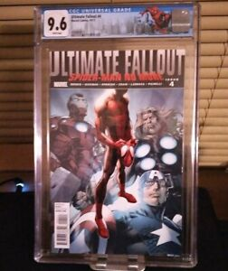 Ultimate Fallout #4 (1st Print) -  2011 - CGC 9.6 1st Miles Morales New label