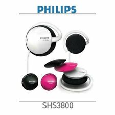 Philips SHS3800 Mix Match Clip Earphone HeadPhone Stereo Multi Use Sport EJ