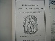 The Personal History of David Copperfield (Charles Dickens, 1965 HC w/Sandglass)