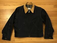 VTG Roebucks Hercules Denim Jacket w/ Corduroy Collar Mens Large 42-44 Short USA