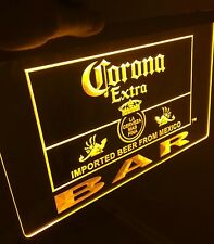 Corona Bar Extra Sign Led Neon Sign for Game Room,Office,Bar,Man Cave, Beer