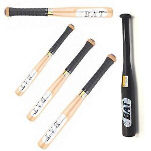 Heavy Duty Baseball Bat Alloy or Wooden Sport Training Practice! Self Protection