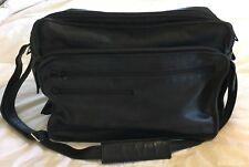 LONGCHAMP Hunter Green Leather Travel Carryon Overnight Duffle Bag-NICE