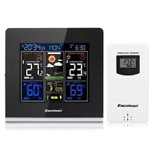 Excelvan Wireless Weather Station Colour Display Indoor/Outdoor Temperature (UK)