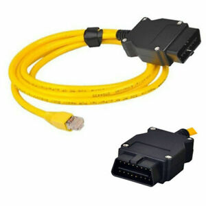 23.4 V50.3 Data Cable Lead ENET Ethernet to OBD Interface E-SYS ICOM Coding BMW