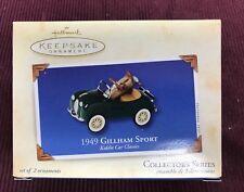 New Mib Hallmark 2003 1949 Gillham Sport Kiddie Car Classic Keepsake Ornament