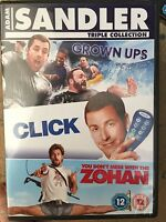Grown Ups Click Zohan DVD Box Set Adam Sandler Comedy Triple Don't Mess With The