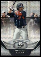 2011 Bowman Platinum Prospects Xfractor Chun-Hsiu Chen #BPP79 Cleveland Indians