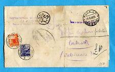 DEMOCRATICA -  £.4 + £.6 ENTRAMBI USATI COME SEGNATASSE  (879194)