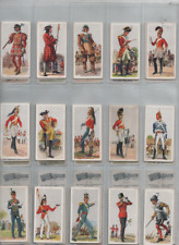 cigarette cards history of army uniforms military 1937 full set