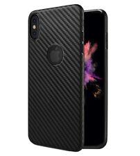 Funda Carbon Fiber Hoco para iPhone XS MAX carcasa ultradelgada efecto carbono