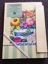 Mary Engelbreit Journal Plant Seed Of Friendship,Reap a Bouquet Of Happines New