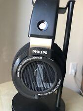 Philips SHP9500S HiFi Precision Stereo Over the Ear Open Headphones - Black