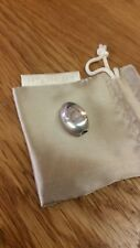 Kit Heath Sterling Silver Oval Bead to Fit Charm Bracelet/Chain