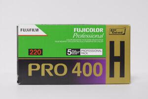 Rare Fujifilm Pro 400h - 220 Film, 5 Rolls