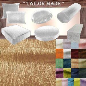 Wn15 Khaki Tan Chenille Sofa Seat Patio Bench Box Cushion Bolster Cover/Runner