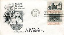 Friedrich St. Florian WWII War Memorial Architect Signed Autograph FDC
