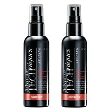 2 X Avon Advance Techniques Heat Protection Styler Spray ~ Protect It