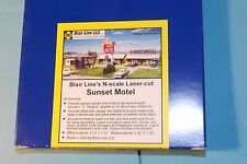 SUNSET MOTEL  BY BLAIR LINE N SCALE # 1001