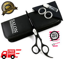 "6.5"" Professional Hairdressing Hair Cutting Scissors Barber Shears BLACK"