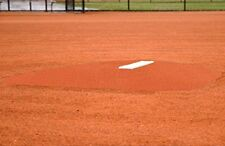 Diamond Pro Fiberglass Baseball Portable Pitcher's Pitching Mound #1 Clay Turf