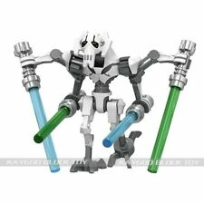 General Grievous STAR WARS Building Block ABS material New Custom Toy Minifigure