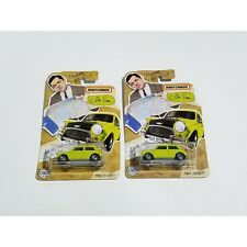 2020 Matchbox Mr Bean Mini Cooper in Special Packaging (Lot of 2)