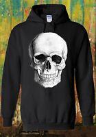 Skull Skeleton Fashion Hipster Funny Men Women Unisex Top Sweatshirt Hoodie 530