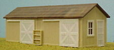 AM MODELS 110 HO LONG FREIGHT STATION Model Railroad Plastic Kit FREE SHIP