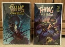Dark Horse THE THING from Another World Comic #1 & #2 (1991)