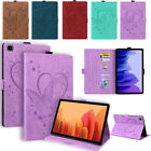 For Samsung Galaxy Tab A 8.0 A7 Lite S7 Plus Flip Leather Card Stand Case Cover