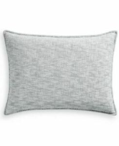 Hotel Collection Seaglass Quilted Standard Pillow Sham $120  NIB  Save  $70!!