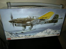 1:48 Hasegawa Junkers Ju87B-2 STUKA w/SKID Nr. 07317 Limited Edition OVP