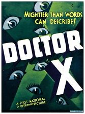 Doctor X - 1932 - Lionel Atwill Fay Wray Lee Tracy Michael Curtiz Pre-Code DVD