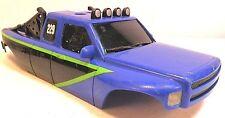 RC Crawler Body Micro Dodge Ram Dakota Prerunner Scale Off Road Race Truck Light