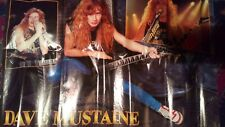 Dave Mustaine. Pòster 80*55cms.reverse Kerry King And Faith No More!!!