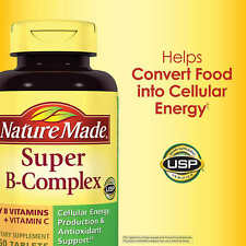 Nature Made Super B Complex with C & Folic Acid 460 Tablets