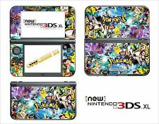 SKIN STICKER AUTOCOLLANT - NINTENDO NEW 3DS XL - REF 209 POKEMON