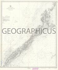 1950 U.S. COAST AND GEODETIC SURVEY NAUTICAL CHART OF PALAWAN, PHILIPPINES