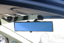 Universal Broadway Flat Interior Clip On Rear View Blue Tint Mirror 300MM
