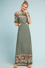 249a2f3db92 NWT ANTHROPOLOGIE Farm Rio Lila Maxi Dress Sz. M