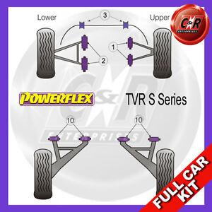 Fits TVR S Series Powerflex Complete Bush Kit