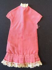 Sindy vintage dolls clothes 1963 Dream Date 12S03 Pink Dress